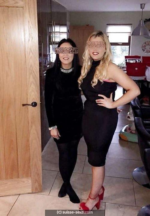 Deux belles nanas pour massage a Lancy